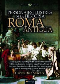 PERSONAJES ILUSTRES DE LA HISTORIA - ROMA ANTIGUA