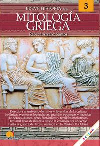 BREVE HISTORIA DE LA MITOLOGIA GRIEGA