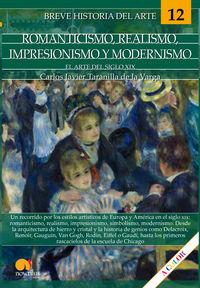 Breve Historia Del Romanticismo, Realismo, Impresionismo Y Modernismo - Carlos Javier Taranilla De La Varga