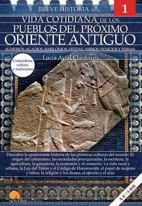 breve historia de la vida cotidiana de los pueblos del proximo oriente antiguo sumerios acadios babilonios hititas asirios fenicios y persas - Lucia Avial Chicharro