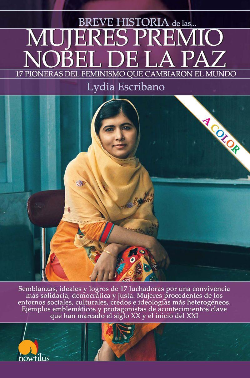 breve historia de las mujeres premio nobel de la paz - Lydia Escribano