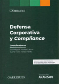 Defensa Corporativa Y Compliance (duo) - Juana Maria Pardo