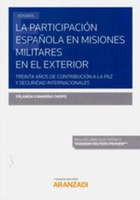 PRACTICA ESPAÑOLA EN MISIONES MILITARES EN EL EXTERIOR, LA (DUO)