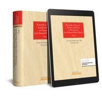 PERSUADIR Y RAZONAR: ESTUDIOS JURIDICOS EN HOMENAJE A JOSE MANUEL MAZA MARTIN - TOMO I Y II (DUO)
