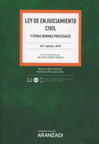 (25 Ed) Ley De Enjuiciamiento Civil (duo) - Faustino Cordon Moreno