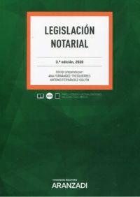 (3 ED) LEGISLACION NOTARIAL (DUO)
