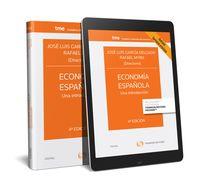 (4 Ed) Economia Española - Una Introduccion (duo) - Jose Luis Garcia Delgado