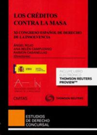 Creditos Contra La Masa, Los (duo) - Ana Belen Campuzano Laguillo / Angel Rojo / Raimon Casanellas