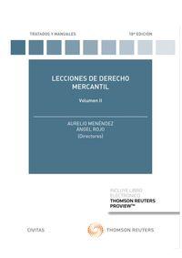 (18 ED) LECCIONES DE DERECHO MERCANTIL VOLUMEN II