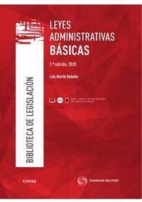 (2 ED) LEYES ADMINISTRATIVAS BASICAS (DUO)