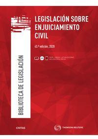 (43 ED) LEGISLACION SOBRE ENJUICIAMIENTO CIVIL (DUO)