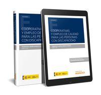 Cooperativas Y Empleo De Calidad Para Las Personas Con Discapacidad (duo) - Francisco Javier Arrieta Idiakez
