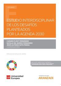 ESTUDIO INTERDISCIPLINAR DE LOS DESAFIOS PLANTEADOS POR LA AGENDA 2030 (DUO)