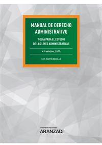 (4 ED) MANUAL DE DERECHO ADMINISTRATIVO