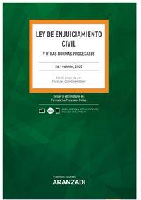 (26 ED) LEY DE ENJUICIAMIENTO CIVIL (DUO)