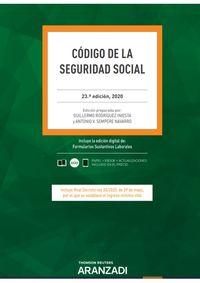 (23 ED) CODIGO DE LA SEGURIDAD SOCIAL (DUO)