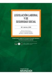 (28 ED) LEGISLACION LABORAL Y DE SEGURIDAD SOCIAL (DUO)