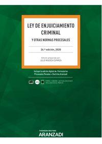 (26 ED) LEY DE ENJUICIAMIENTO CRIMINAL (DUO)
