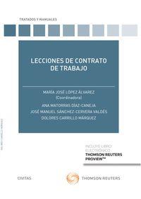 LECCIONES DE CONTRATO DE TRABAJO (DUO)