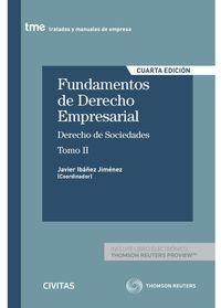 (4 ED) FUNDAMENTOS DE DERECHO EMPRESARIAL (II) (DUO)