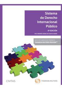 (6 ED) SISTEMA DE DERECHO INTERNACIONAL PUBLICO (DUO)