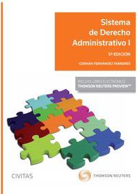 (5 ED) SISTEMA DE DERECHO ADMINISTRATIVO I (DUO)