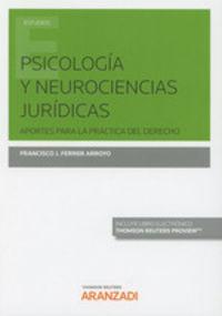 Psicologia Y Neurociencias Juridicas (duo) - Francisco J. Ferrer Arroy