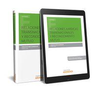 RELACIONES JURIDICAS TRANSNACIONALES Y RECONOCIMIENTO MUTUO (DUO)