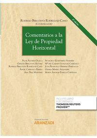 (6 Ed) Comentarios A La Ley De Propiedad Horizontal (duo) - Rodrigo Bercovitz Rodriguez-Cano (coord. )