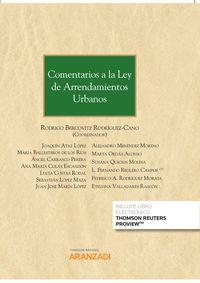 (7 ED) COMENTARIOS A LA LEY DE ARRENDAMIENTOS URBANOS (DUO)