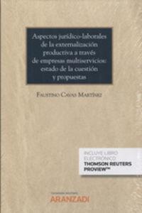 ASPECTOS JURIDICO LABORALES DE LA EXTERNALIZACION PRODUCTIVA