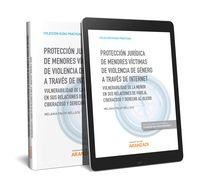 Proteccion Juridica De Menores Victimas De Violencia De Genero A Traves De Internet (duo) - Melania Palop Belloch