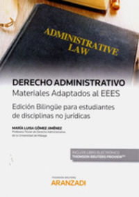 DERECHO ADMINISTRATIVO MATERIALES ADAPTADOS AL EEES (DUO)
