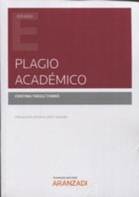 Plagio Academico - Cristina Todoli Torro