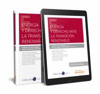 ENERGIA Y DERECHO ANTE LA TRANSICION RENOVABLE