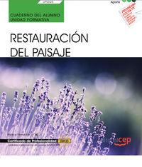 CP - CUADERNO - RESTAURACION DEL PAISAJE (UF0025) - CERTIFICADOS DE PROFESIONALIDAD - JARDINERIA Y RESTAURACION DEL PAISAJE (AGAO0308)