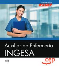 TEST - AUXILIAR DE ENFERMERIA - INGESA