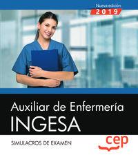 SIMULACROS DE EXAMEN - AUXILIAR DE ENFERMERIA - INGESA