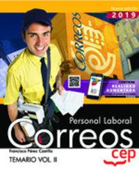 TEMARIO II - PERSONAL LABORAL - CORREOS