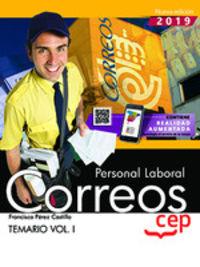TEMARIO I - PERSONAL LABORAL - CORREOS