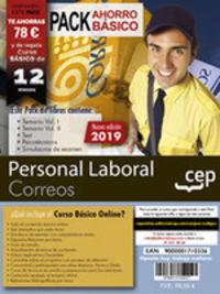 PACK AHORRO BASICO - PERSONAL LABORAL - CORREOS (INCLUYE TE