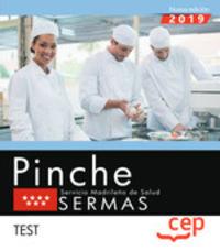 TEST - PINCHE - SERVICIO MADRILEÑO DE SALUD (SERMAS)