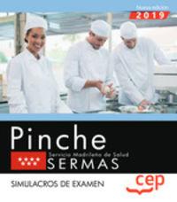 SIMULACROS DE EXAMEN - PINCHE (SERMAS) - SERVICIO MADRILEÑO DE SALUD