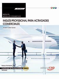 CP - MANUAL INGLES PROFESIONAL PARA ACTIVIDADES COMERCIALES (MF1002_2)