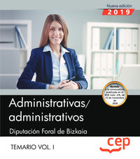 TEMARIO I - ADMINISTRATIVAS / OS - DIPUTACION FORAL DE BIZKAIA