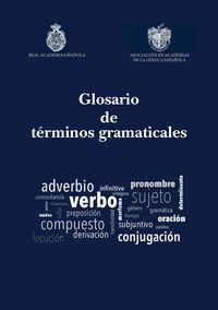 GLOSARIO DE TERMINOS GRAMATICALES