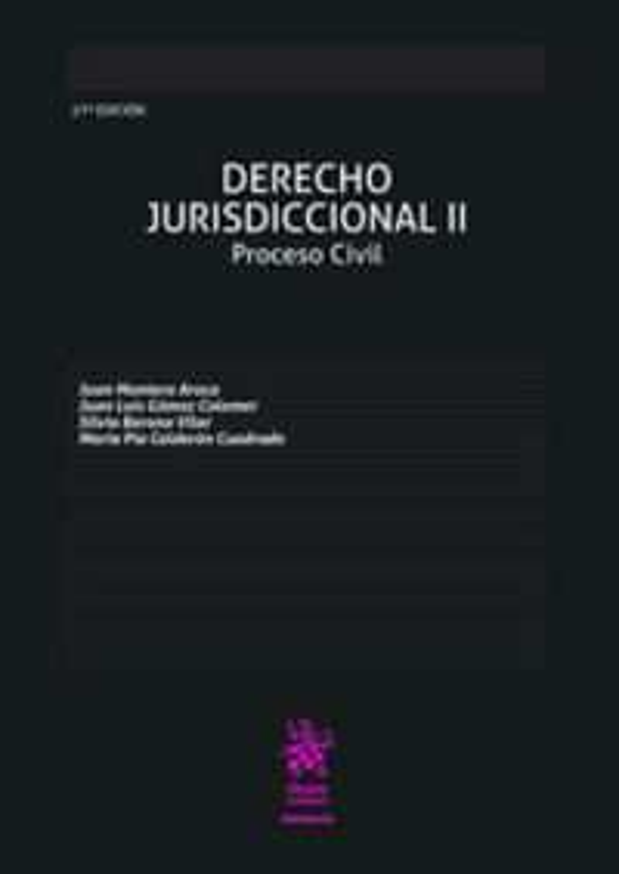 (27 ED) DERECHO JURISDICCIONAL II - PROCESO CIVIL