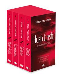 (ESTUCHE) TETRALOGIA HUSH HUSH - HUSH HUSH / CRESCENDO / SILENCIO / FINALE