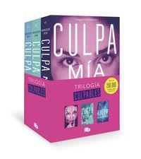 TRILOGIA CULPABLES (CULPA MIA + CULPA TUYA + CULPA NUESTRA)