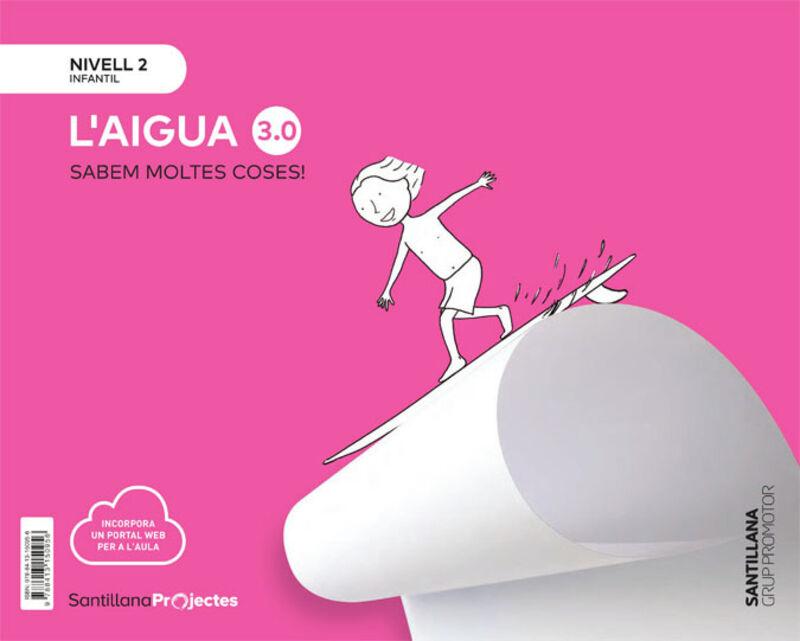 4 ANYS - NIVELL II - EL AGUA (CAT) - CUANTO SABEMOS 3.0